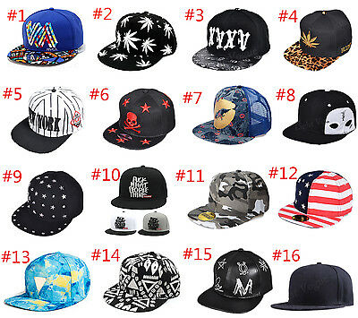 New Men's Snapback Hat Baseball Cap adjustable Sport Hip Hop Unisex Hats Fashion