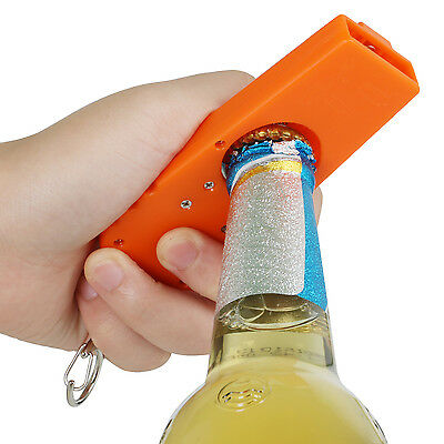 Bottle Opener and Cap Launcher - By TRIXES