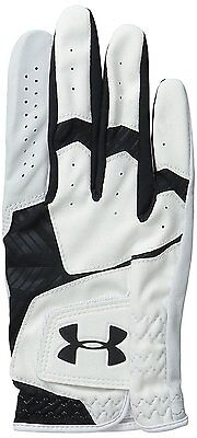 Under Armour UA Hombre CoolSwitch Guantes De Golf Negro/Blanco. grande.