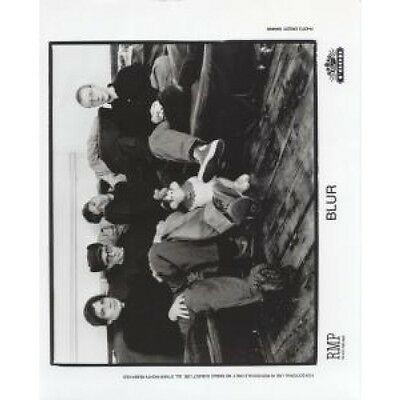 BLUR Black And White Promo PHOTOGRAPH UK Food Approx 26 X 20 Cm Promo