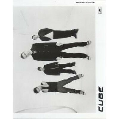 CUBE (90'S ARTIST) Black And White Promo PHOTOGRAPH UK Polydor Approx 26 X 2