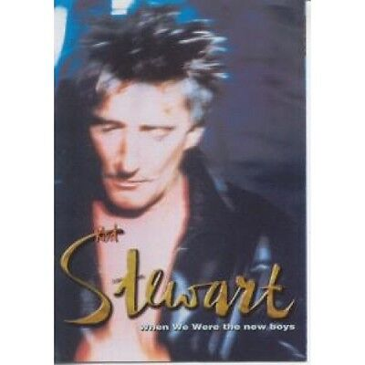 ROD STEWART When We Were The New Boys FLYER Japanese Fold Out Promo Flyer For