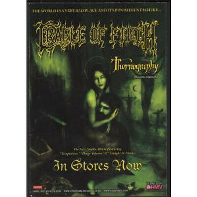 CRADLE OF FILTH/SABBAT Thornography/Dreamweaver And History Of A Time To Come