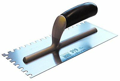 Ragni R319-8 Tilers Trowel 11 X 4.75In With 8Mm U Serrated Edges