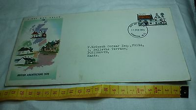 1970 First Day Cover Stamps British Architecture