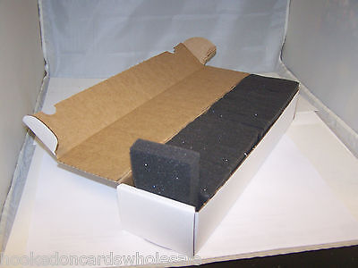 20 BCW Foam Monster Jam Pads for Sports Trading Card Storage Boxes