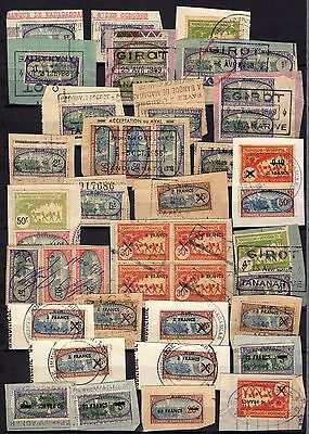 MADAGASCAR AFRICA  stamps REVENUE FISCAL classic  COLLECTION RARE