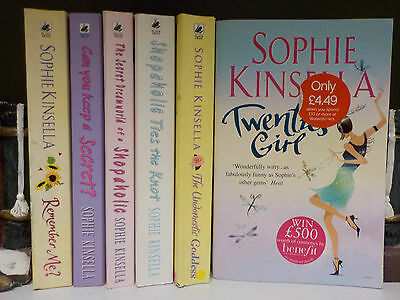 Sophie Kinsella - 6 Books Collection! (ID:43964-76)