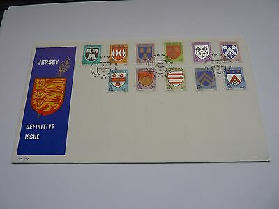 Jersey Definitive Issue 1981 FDC