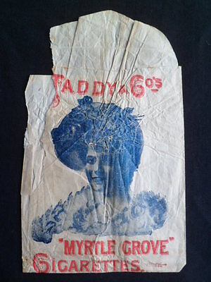 Cigarette Packet 'vintage..    Taddy & Co.      1900     Very Rare