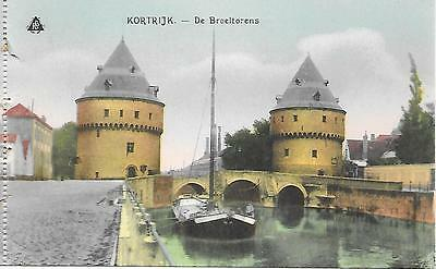Kortrijk - Broel Towers  - Unposted Postcard