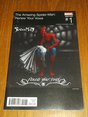 Spiderman Renew Your Vows #1 Marvel Comics Hip Hop Variant
