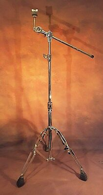 PEARL double braced and solid 3 stage cymbal stand and boom arm for drum kit