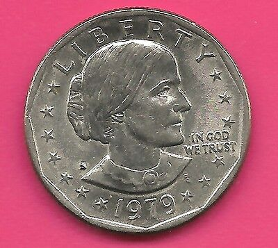 1 Dollar Susan Brownell Anthony 1979