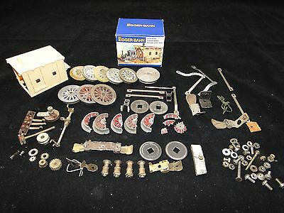 Lot Pieces Divers Locomotive Egger Bahn Garage Roues Horby O V-Charriere (D117)
