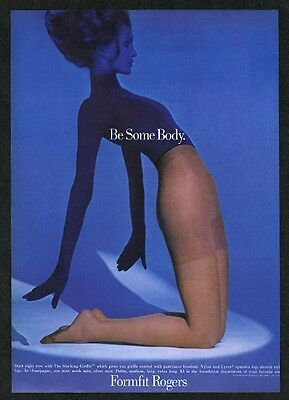 1969 Formfit Rogers pantyhose woman photo vintage print ad
