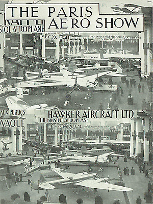 THE PARIS AERO SHOW 1936: 44-page REPORT, PICS & GRAPHICS from THE AEROPLANE