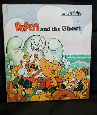 Little Pops~*Popeye & the Ghost popup book*~1981 1st American Edition Halloween