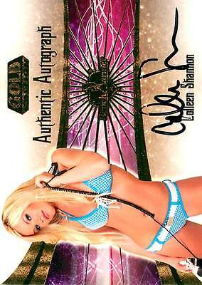 Colleen Shannon 22 of 30 2007 Bench Warmer Gold Autograph Auto