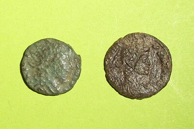 COLLECTION Ancient BARBARIC ROMAN COINS 200 AD-400 AD antique old lot treasure