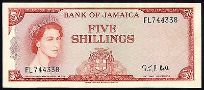 JAMAICA  5 shillings type 1960