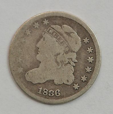 1836 Capped Bust Half Dime *G43
