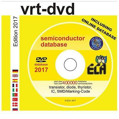 Eca - 978-3-937469-46-1 - Vrt-dvd Semiconductor Database Dvd-rom 2017