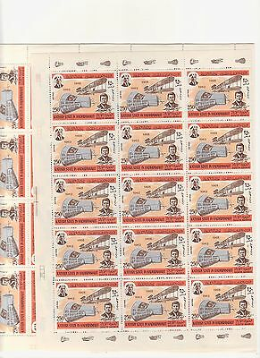 Kathiri State In Hadhramaut-250 Fills Mnh Space And Kennedy-115 Stamps-4 Sheets+