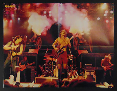 VINTAGE LARGE Poster AC/DC / E.T., Germany, August 1982!! NEAR MINT CONDITION!!