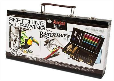 Royal and Langnickel Beginners Sketching and Drawing Artists pencil charcoal Set