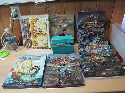 AD&D Dungeons Dragons RPG TSR Birthright Campaign Setting Huge Lot!