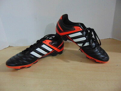 Soccer Shoes Cleats Childrens  Size 4 Youth Adidas Black Red
