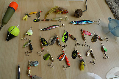 Pike Fishing Tackle Lures Spinners Forceps Pike Floats Trebles Pike Job Lot Gear