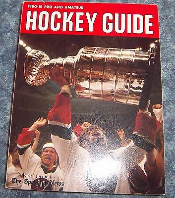 The Sporting News NHL Guide Pro & Amateur Hockey Guide 1980-81 Denis Potvin