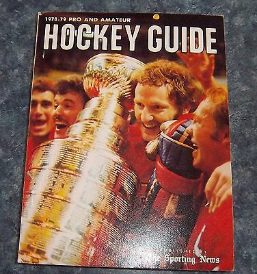 The Sporting News NHL Guide Pro & Amateur Hockey Guide 1978-79 Larry Robinson