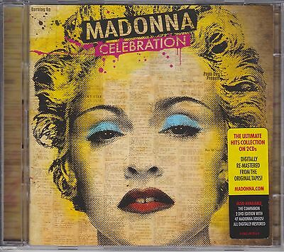 Madonna,celebration,double Cd Album,all The Hits On 2 Cd`s