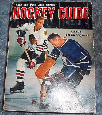 The Sporting News NHL Guide Pro & Senior Hockey Guide 1968-69 Bobby Hull # 2