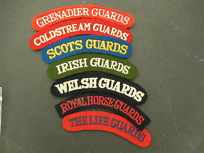 Selection of  Shoulder Title Patches