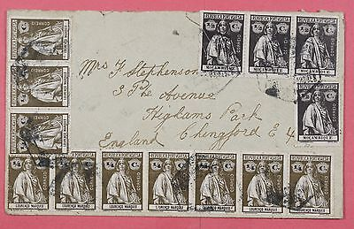 Mozambique Lourenco Marques Portugal Mixed Franked Cover To England