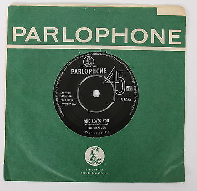 THE BEATLES She Loves You / I'll Get You 1963 1st UK PRESS EX+