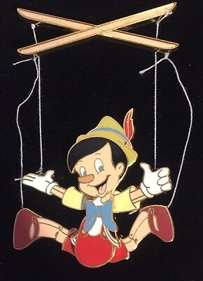 Disney Auctions Pinocchio With Strings Pin LE100 RARE