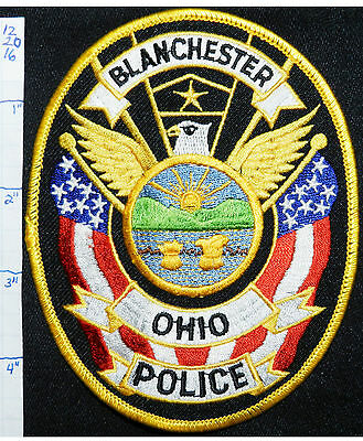 Ohio, Blanchester Police Dept Oval Patch