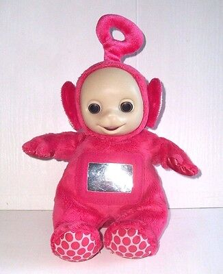 """Teletubbies Soft Plush Red Po 12"""" With Mirror Effect By Tomy - Teletubby"""