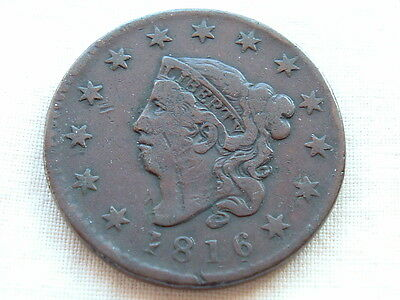 American Large Cent 1816 take a look!
