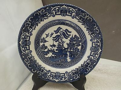 Blue And White Willow Pattern Side Plate By English Ironstone Tableware