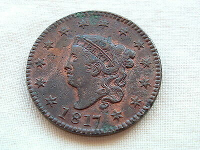 American Large Cent 1817 take a look! Lots of detail.