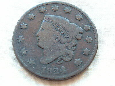 American Large Cent 1824 take a look!