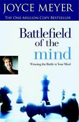 NEW Battlefield of the Mind By Joyce Meyer Paperback Free Shipping