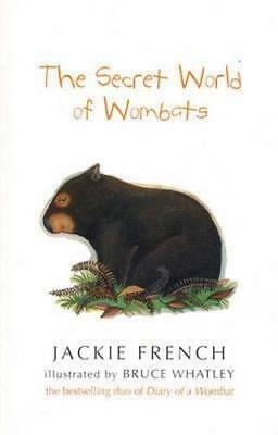 NEW The Secret World of Wombats By Jackie French Paperback Free Shipping