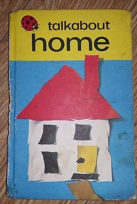 Ladybird Book - Talkabout Home - Series 735